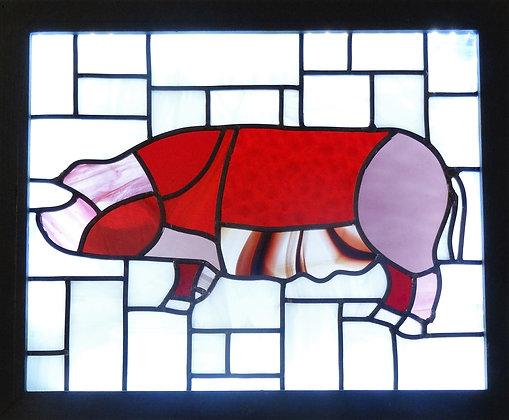 Pig         (465mm x 385mm / 18.3' x 15.2')