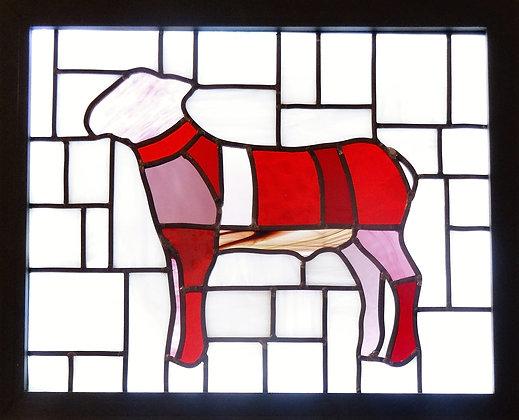 Lamb (465mm x 385mm / 18.3' x 15.2')