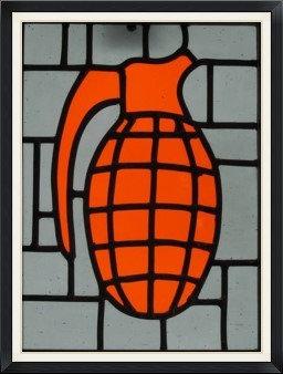Kaboom Orange (267mm x 230mm / 10.5' x 9')