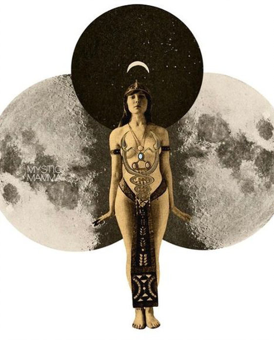 New Moon/Full Moon Virtual Circles