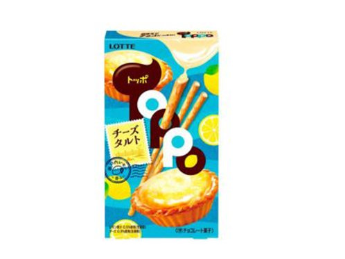 Toppo Lemon Cheese Tart 72g