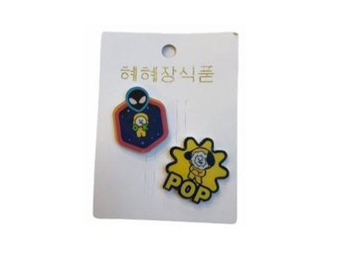 BT21 Pop Badge Chimmy 11-0020