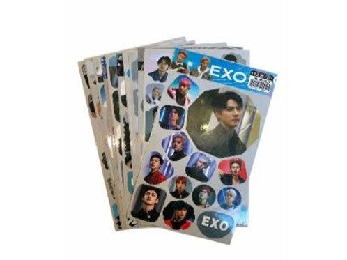 EXO Stickers 11-0007