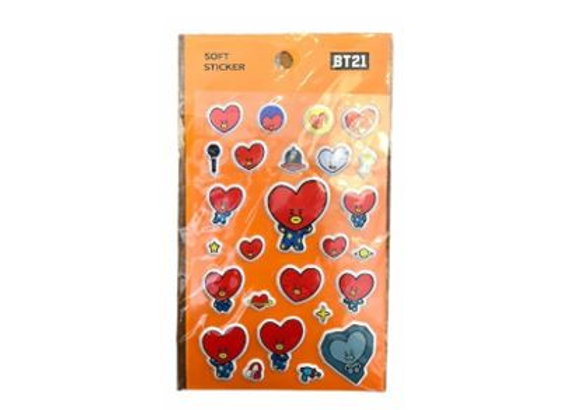 BT21 Sticker Tata 12-0003