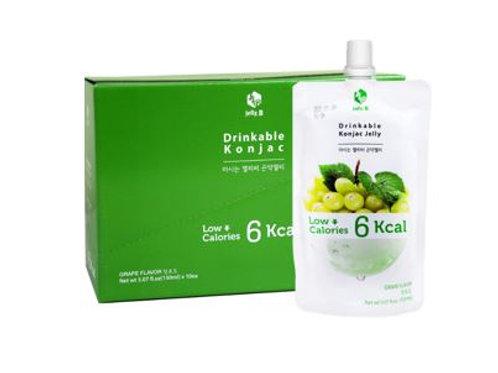 BOX | Drinkable Konjac Jelly Green Grape Flavor 150ml x 10