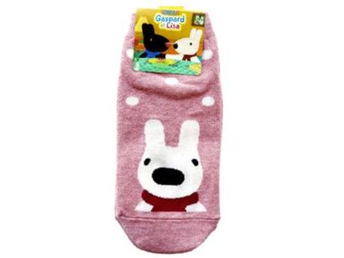 Gaspard & Liza Pink Socks dot 12377
