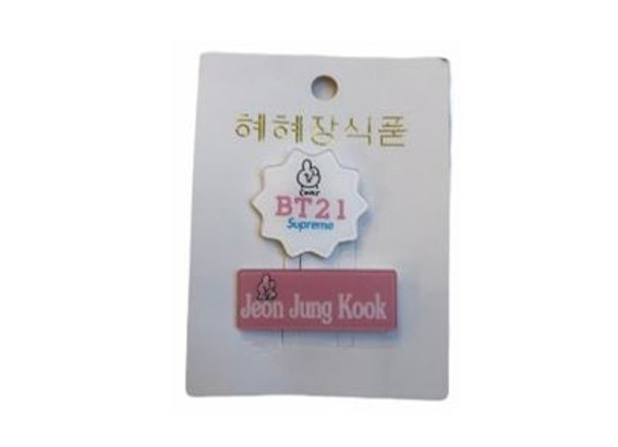 BT21 Name Badge Cooky 11-0019