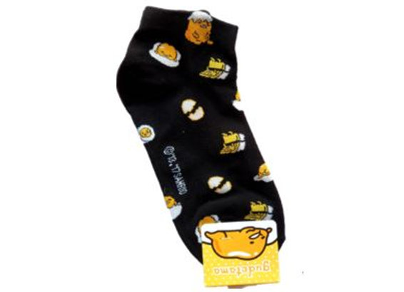 Gudetama Lunchbox Socks Black 15402