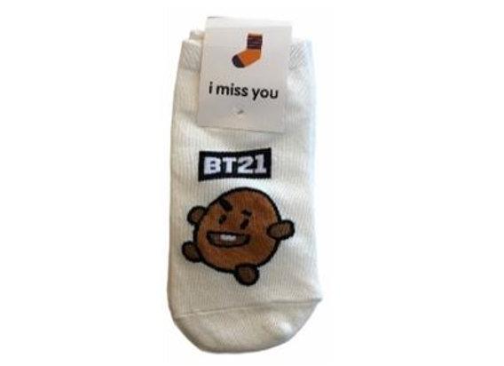 BT21 IMU Socks Shooky 18-0002