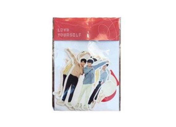 BT21 Love Your Self Sticker 12-0004