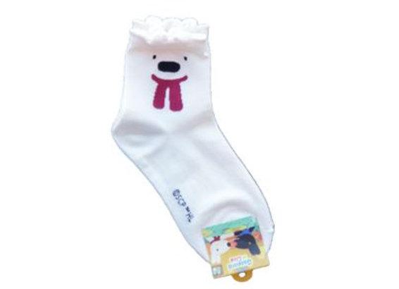 Gaspard & Liza White Socks 12377