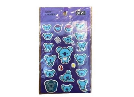 BT21 Sticker Koya 12-0003