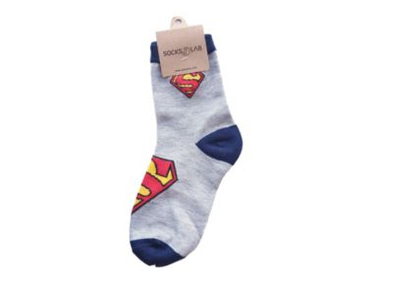 Superman Gray & Blue 9-10 yrs old 10191
