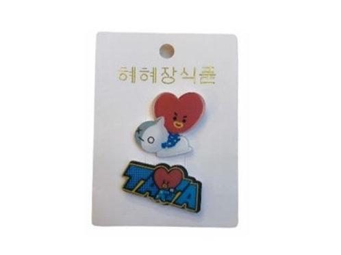 BT21 Badge Tata 11-0018
