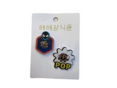 BT21 Pop Badge Shooky 11-0020