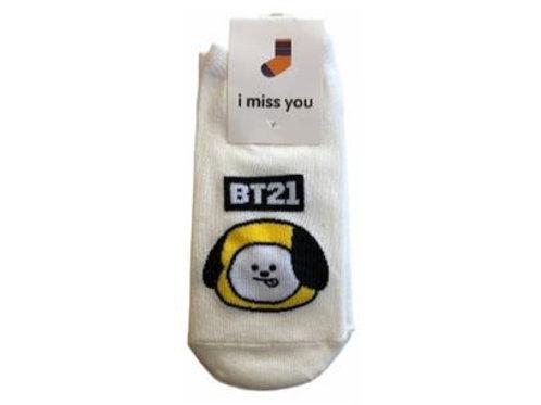 BT21 IMU Socks Chimmy 18-0002