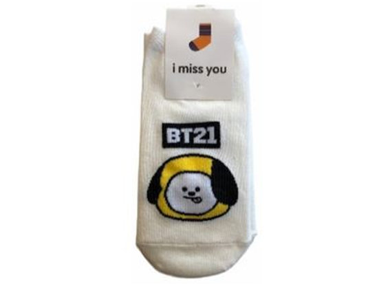 BT21 IMU Socks Chimmy 18-0002