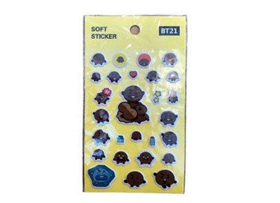 BT21 Sticker Shooky 12-0003