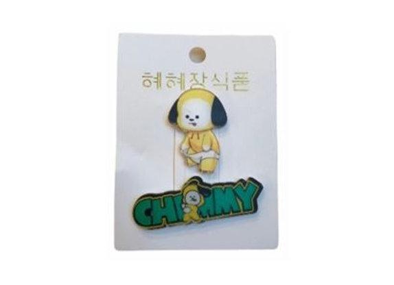 BT21 Badge Chimmy 11-0018