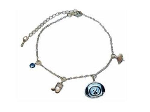 BT21 SIlver Bracelet Chimmy 11-0002