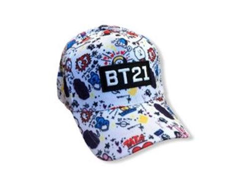 BT21 Embroider Cap 20-0011