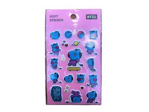 BT21 Sticker Mang 11-0007