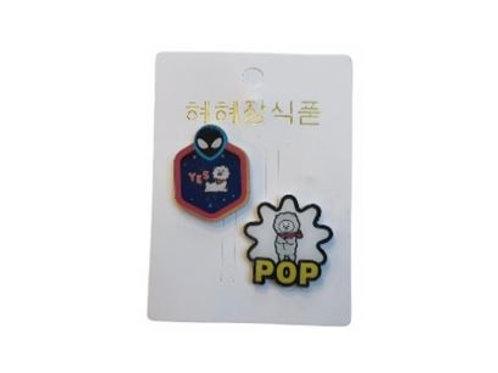 BT21 Pop Badge RJ 11-0020