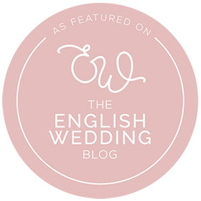 The English Wedding Blog featured badge