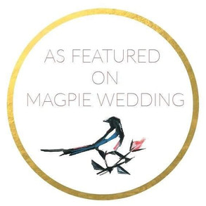 Magpie Wedding featured badge