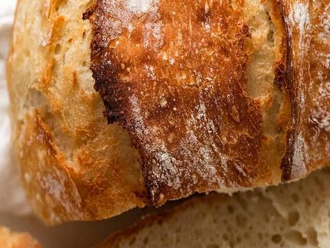 Artisan, NO KNEAD Bread