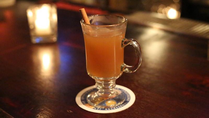 Hot Spiked Cider