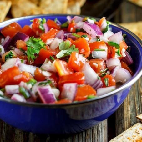 Fresh Homemade Salsa (gluten free | keto | paleo)
