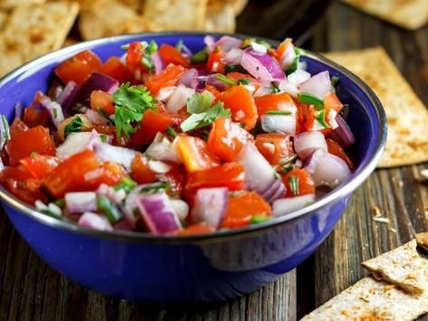 Fresh Homemade Salsa (gluten free   keto   paleo)