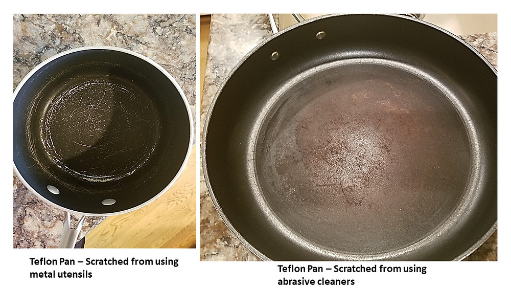 Teflon pans gone bad