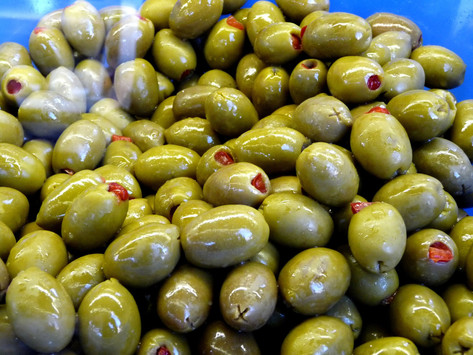 Cream Cheese and Olives