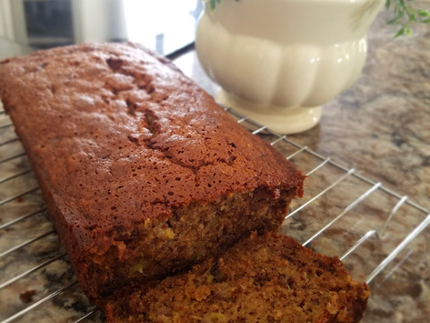 It Is All About the Bread: Banana Nut Bread