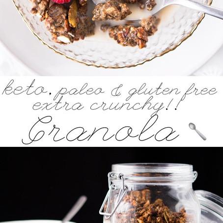 Grain Free Granola (Keto|Paleo|Gluten Free)