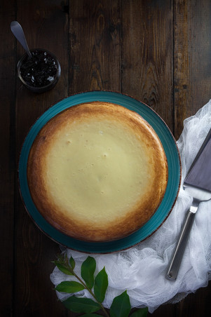 New York Style Cheesecake (Keto|Low Carb|Gluten Free)