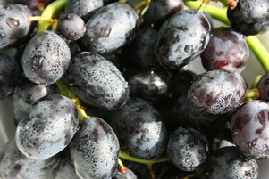 Grapes:  It's all About the Black Grapes