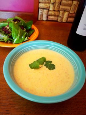Cauliflower Soup (gluten free | keto | paleo)