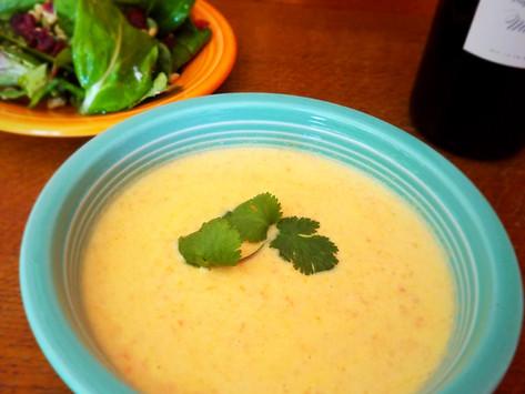 Cauliflower Soup (gluten free   keto   paleo)