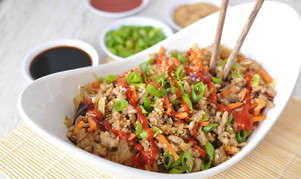 Egg Roll in a Bowl (Low-carb |Keto|Gluten Free)