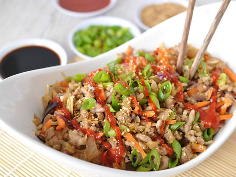Egg Roll in a Bowl (Low-carb  Keto Gluten Free)
