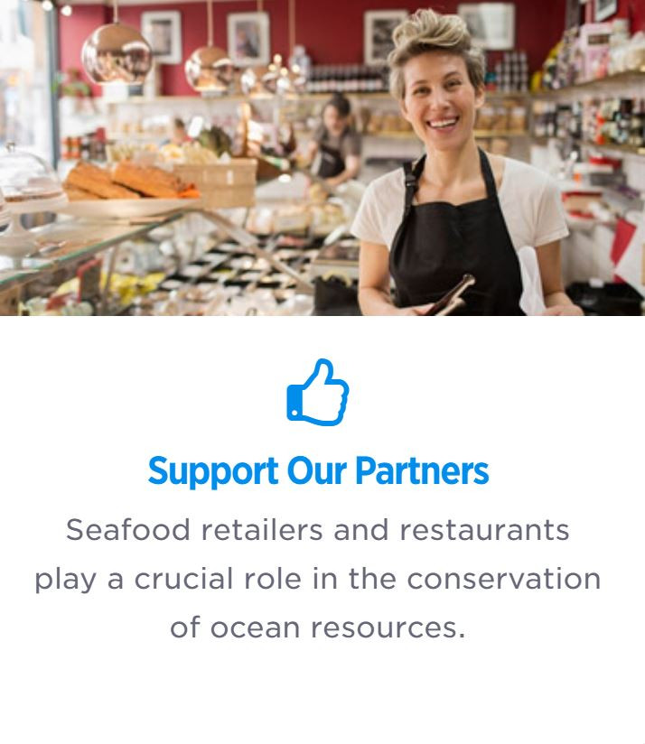 Seafood Watch Support Our Partners