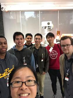 JPL Tour Group Photo