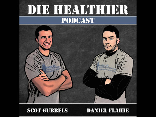 AZ on the Die Healthier Podcast!