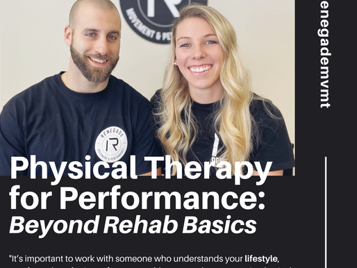 Physical Therapy for Performance: Beyond Rehab Basics