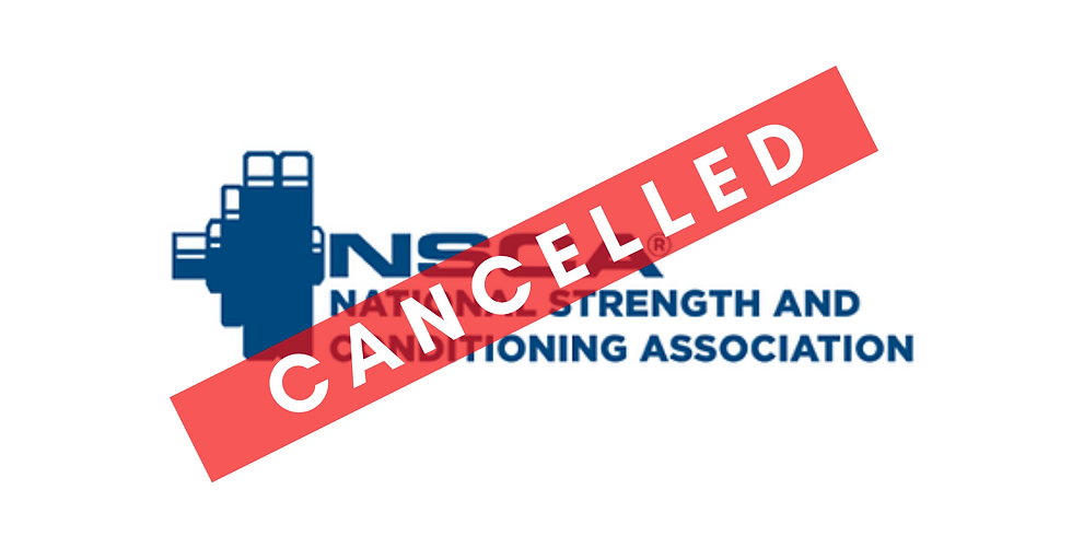 2020 NSCA National Conference