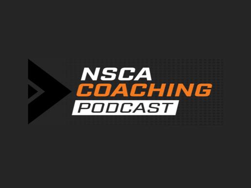 AZ on NSCA's Coaching Podcast