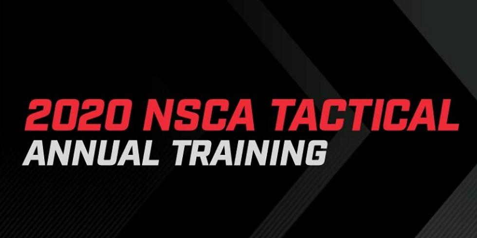 2020 NSCA Tactical Annual Training - Virtual